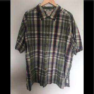 Men's XL Vintage Abercrombie OutDoor Button Down